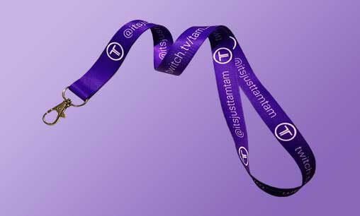 Personalized lanyard