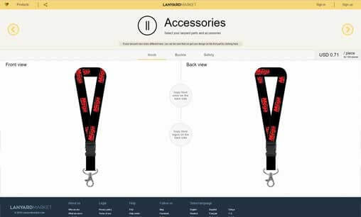 Design lanyards